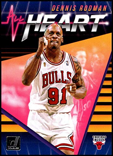 2018-19 Donruss All Heart #14 Dennis Rodman NM-MT Chicago Bulls Official NBA Basketball Card