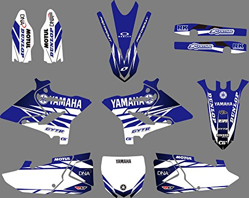 DST0628 Customized 3M Sticker Motorcross Graphic Motorcycle Decals Stickers Kit Graphics set for Yamaha YZ125/YZ250/X 2015 2016 2017 2018 -