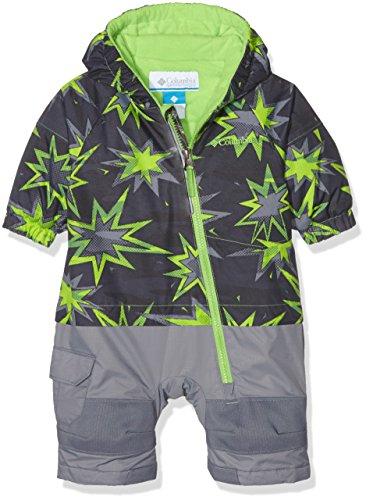 Columbia Infants' Little Dude Suit 0-3 Months Green Print by Columbia