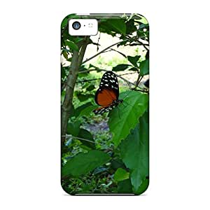 Ideal RoccoAnderson Cases Covers For Iphone 5c(mariposa Roja), Protective Stylish Cases