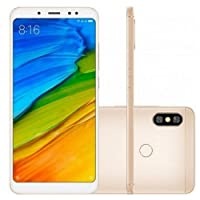 Smartphone Xiaomi Redmi Note 5 64GB 4G Dourado Global Desbloqueado