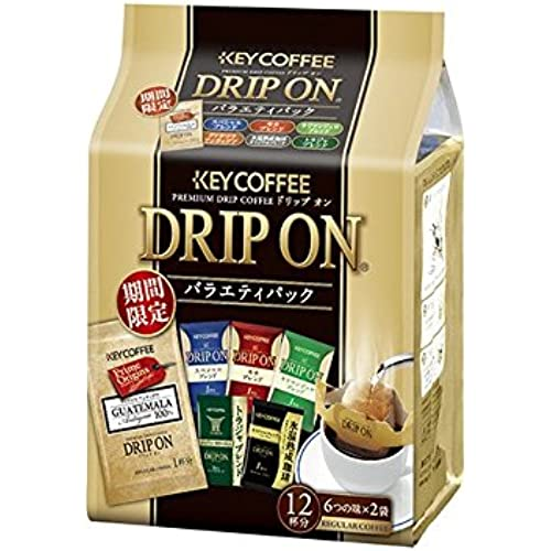 ★KEY 커피 DRIP ON (6가지 스타일) 12개입