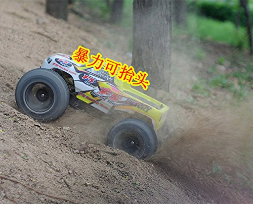 Toy, Play, Game, FS Giant 1:10 Scale Waterproof 4WD Off-Road High speed electronics remote control Monster Truck,rc racing cars, Kids, (Giant Scale Racing)