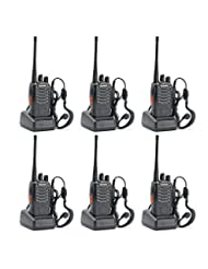 BaoFeng BF-888S Two Way Radio (Pack of 6) - customize 6pack P...