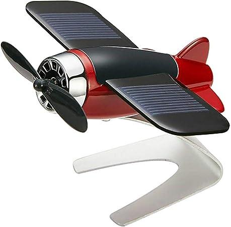 Mcottage Deodorante Per Auto Aereoplano Aereo Modello Solare Energia Aromaterapia Interno Decorazione Rosso Orange Amazon It Casa E Cucina