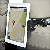 Bestrix Universal Ipad Holder for Car Suitable with iPad Air2/3/4/Mini, Galaxy Tab 3/4, Nexus 7, Kindle Fire HD 6/7 Fire HDX 7/8.9 Fire 2 and All Tablet Devices 7' to 11' 360° Rotating