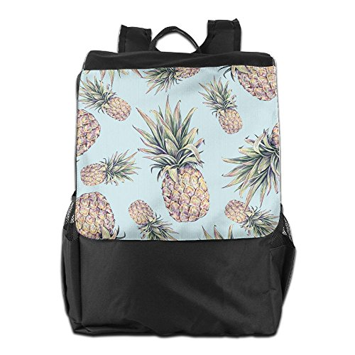 Pineapple Outdoor Travel Hiking Camping Daypack Shoulder Packsack Bag School Backpack For Men Women And Teens