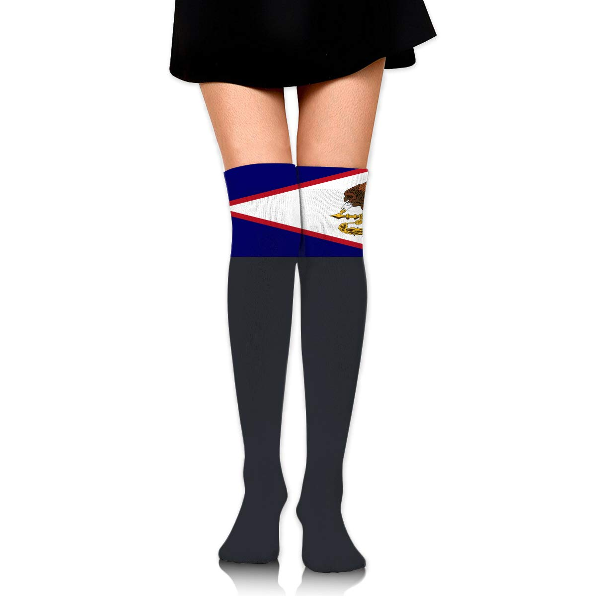 Flag Of American Samoa Long Tight Thigh High Socks Over The Knee High Boot Stockings Leg Warmers