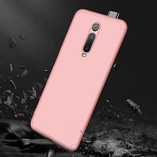 JINCHANGWU compatible with Case Cover for Xiaomi Redmi K20 Pro// K20//mi 9T Pro//mi 9T Case+Not included Screen Protector Hard PC 360 Degree protection Ultra-Thin Lightweight Anti-Scratch Case Red