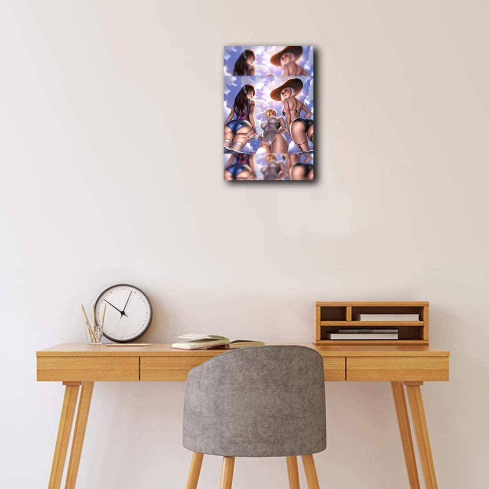 Reprint For Nude Arhi Anime Wall Scroll Poster Home Decorative Painting