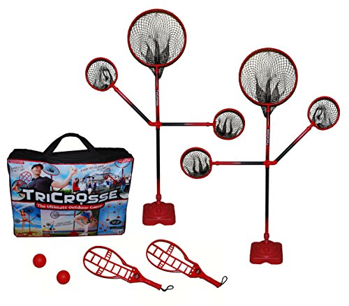 Extreme Adult Game (TriCrosse Extreme Set for Indoor/Outdoor Play - New Game for Kids, Adults &)