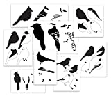 Songbird Stencil Set Vol. 1 Layered Art Stencil Set