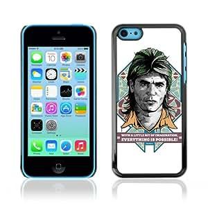 CQ Tech Phone Accessory: Carcasa Trasera Rigida Aluminio para Apple iPhone 5C - Funny MacGyver Illustration