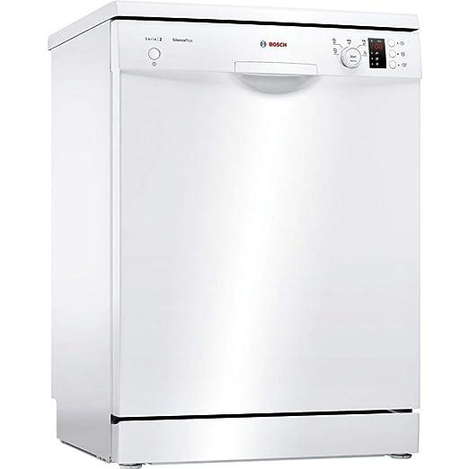 Bosch Serie 2 SMS25AW05E lavavajilla Independiente 12 cubiertos A++ - Lavavajillas (Independiente, Tamaño completo (60 cm), Blanco, Blanco, Botones, ...