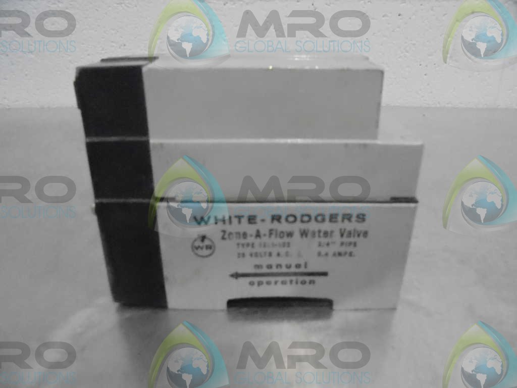 24V White-Rodgers 1311-102 3-Wire Hydronic Zone Valve 3//4 Tube