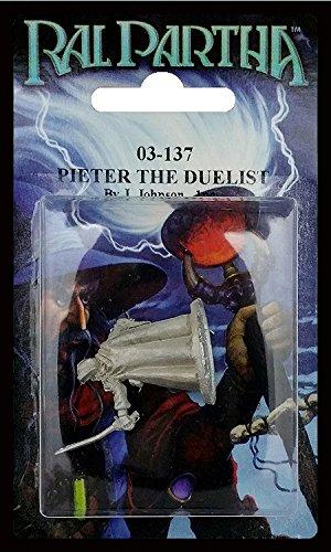 Ral Partha 03-137 Pieter the Duelist