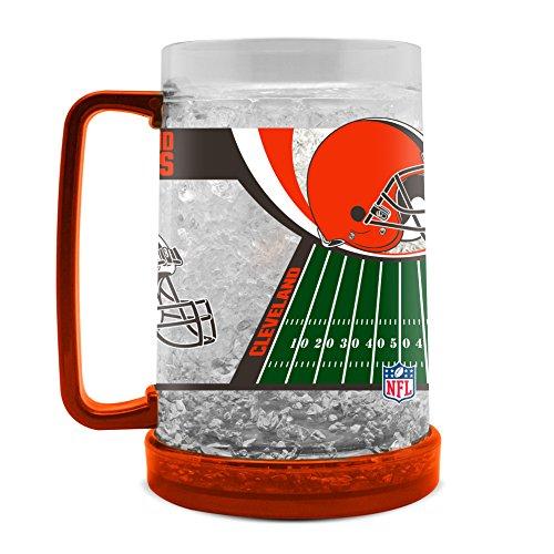 NFL Cleveland Browns 16oz Crystal Freezer Mug