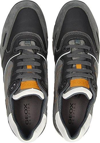 GEOX Sneakers Uomo U44S7A 022FU C9268 Charcoal Grigio