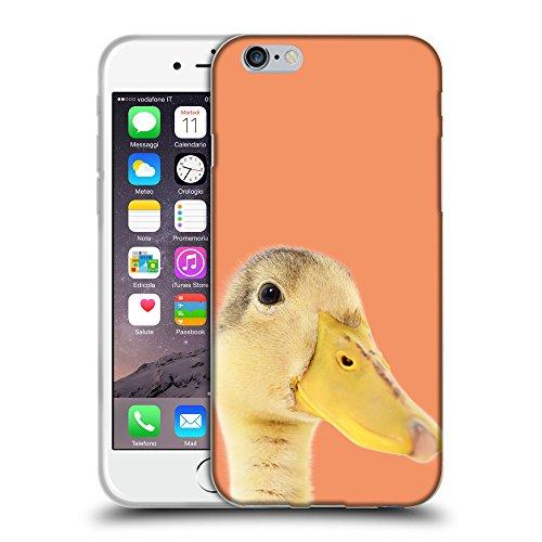 "GoGoMobile Coque de Protection TPU Silicone Case pour // Q05760607 Caneton Atomic Tangerine // Apple iPhone 6 PLUS 5.5"""