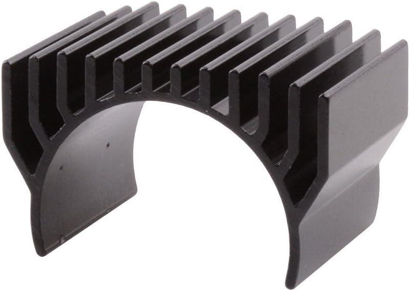 Toyoutdoorparts 2PCS RC Black Aluminum 540 Motor Heat Sink for HSP 1:10 Car Buggy Truck