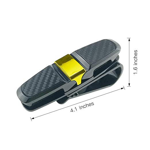 Amazon.com: Yolu - 2 soportes para gafas de sol de coche ...