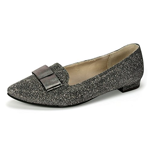 Femmes Gunmetal Plates Femmes Chaussures Chaussures Chaussures Plates Rialto Gunmetal Rialto Rialto Femmes HYH4P6n