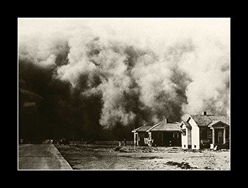 (8 x 10 All Wood Framed Photo Dust Bowl Great Depression 1930s)