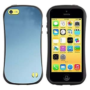 Suave TPU GEL Carcasa Funda Silicona Blando Estuche Caso de protección (para) Apple Iphone 5C / CECELL Phone case / / Blue Sky Clear Clouds Air Wallpaper /