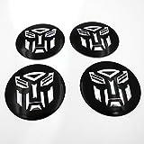 Autobot Transformers Autobot Wheel Center Decal Emblems Set of 4 Pcs