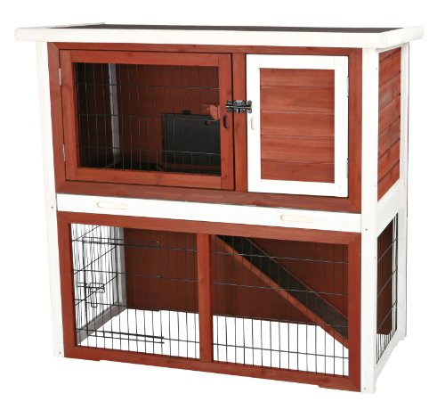 Trixie Pet Products Rabbit Hutch with Sloped Roof, for sale  Delivered anywhere in USA