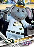 2017 Topps Opening Day Baseball Mascots Insert #M-17 Athletics Mascot Athletics