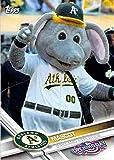 2017 Topps Opening Day Baseball Mascots Insert #M-17 Athletics Mascot Athletics