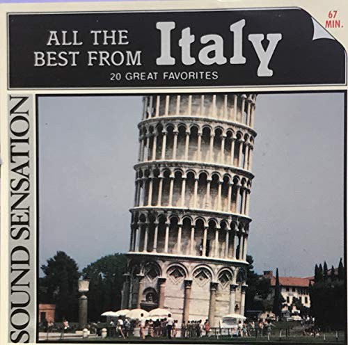 All The Best From Italy: 20 Great Favorites (All The Best From Italy)