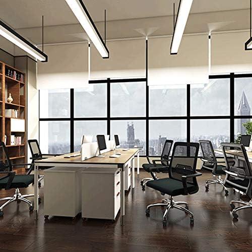 QHF Gaming Mesh Chair Chaises de Bureau Chaises de Direction avec Support Lombaire Hauteur réglable pour Chaise de Bureau à Domicile - Noir