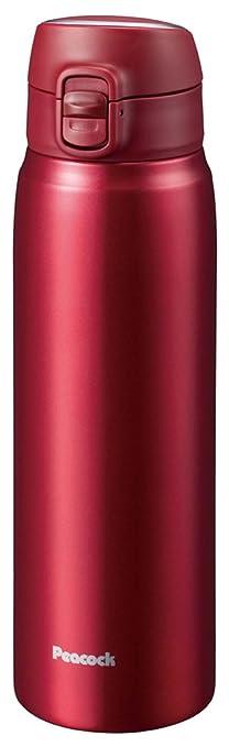 ステンレスボトル ワンタッチマグ レッド 0.7L AMW-70-R