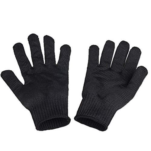 QuiCi Work Gloves Stainless Steel Wire Mesh Gloves-Cut Resistant, Safety Work gloves Anti-Slash Cut Static Resistance Protect Gloves - Resistant Level 5 Cut (1 pair) -