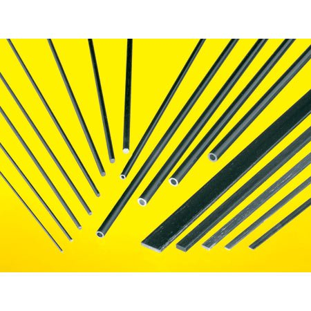 Midwest Carbon Fiber Rod .125 24'' (2) MID5709 by Midwest Products Co.