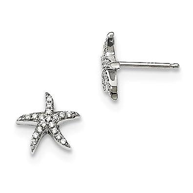 59cf426135a5 Pendientes de plata de ley 925 con circonitas brillantes