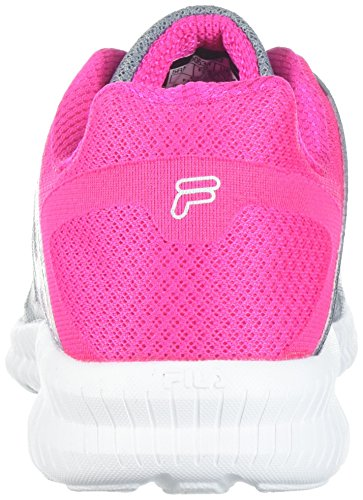 PINK Running MONUMENT Memory Fila Finition Women's METALLIC SILVER Shoe GLO OS6Yxt