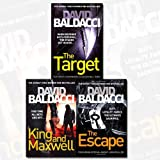 download ebook david baldacci collection 3 books bundle (the target (will robie series), king and maxwell, the escape (john puller series)) pdf epub