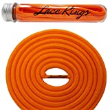 Lace Kings Round Shoelaces (Orange - 36in)