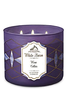 Bath and Body Works White Barn Wine Cellar Scented Candle Winter 2018