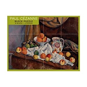 Paul Cezanne 12 Block Puzzle by Pomegranate