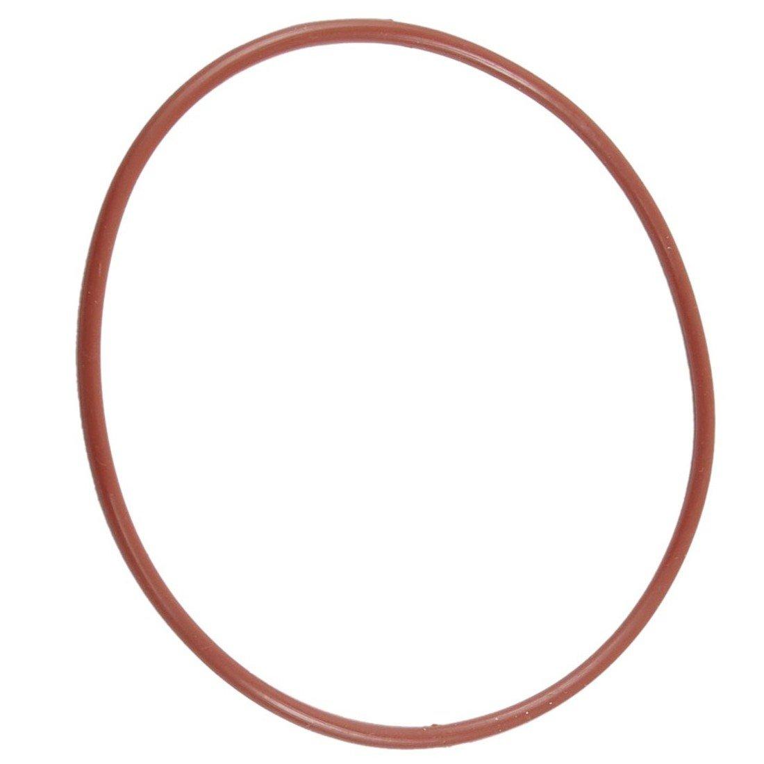 TOOGOO R Rot Silikon O Ring Dichtung Zurueckhaltung oel de Joint metrisch 90 mm x 3 mm O Ring
