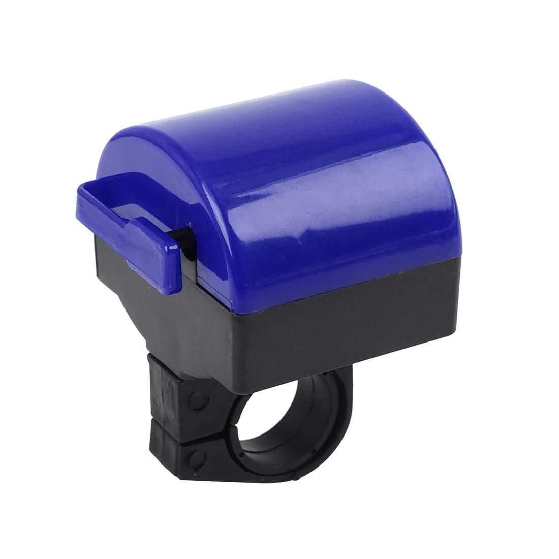 Bike Bell Cycling Handlebar Alarm Bicycle Ring Loud Speaker Horn Siren Blue