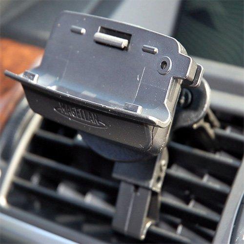 Simply Silver - New Car Air VENT Mount Magellan Maestro 4000 4040 4050 Bracket Holder 702370 GPS