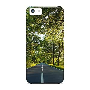 StarFisher Iphone 5c Hybrid Tpu Case Cover Silicon Bumper Empty Road