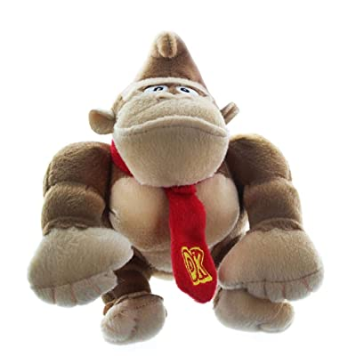 Super Mario Donkey Kong 6 Inch Plush Figure: Toys & Games