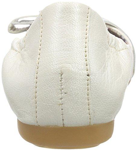 Mjus 670820 - Bailarinas Mujer Blanco - Weiß (Bianco)