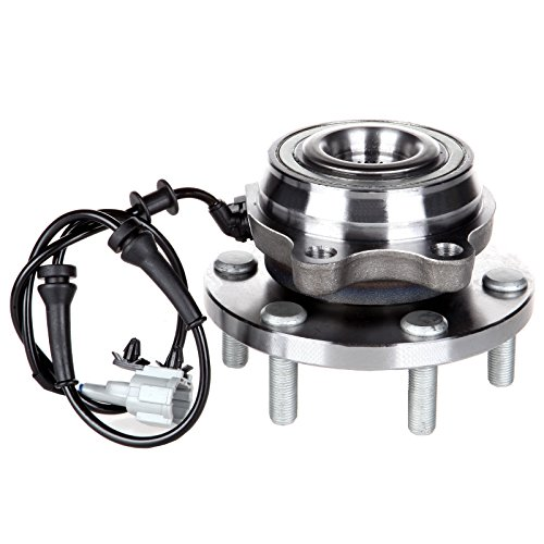 ECCPP Front Wheel Hub Bearing Assembly 6 Lugs w/ABS for 2005-2009 Nissan Compatible with 515065